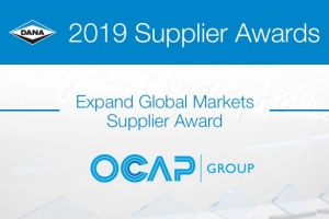 OCAP WINNER OF EXPAND GLOBAL MARKET SUPPLIER AWARD 2019